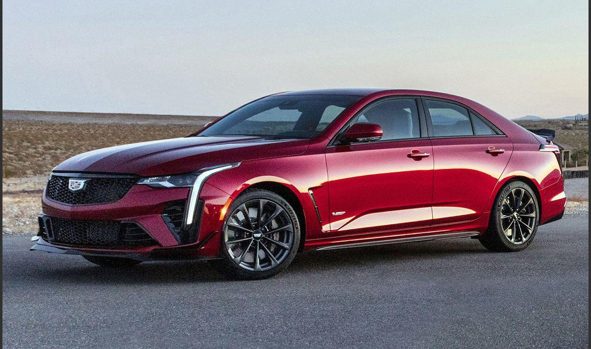 2022 Cadillac Ct4 V Blackwing Series 2020 5 Hp 0 60