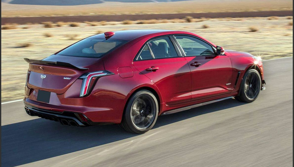 2022 Cadillac Ct4 V Blackwing Specs And Release Date