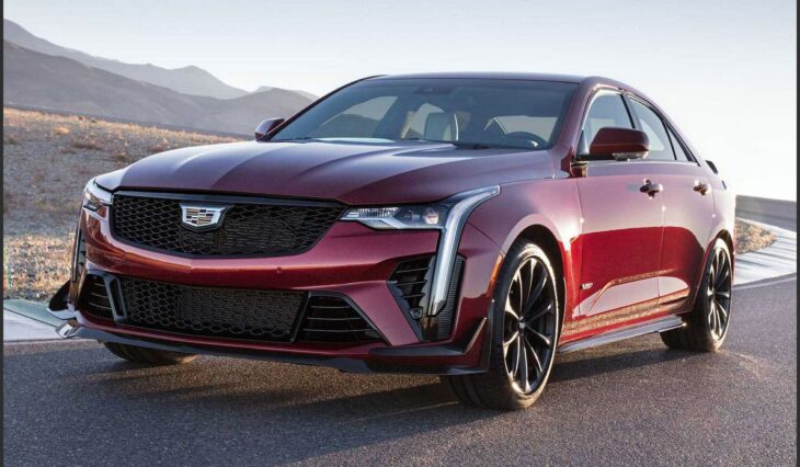 2022 Cadillac Ct5 V Blackwing Caddy New Sport Ct4 Awd 400 Top Speed