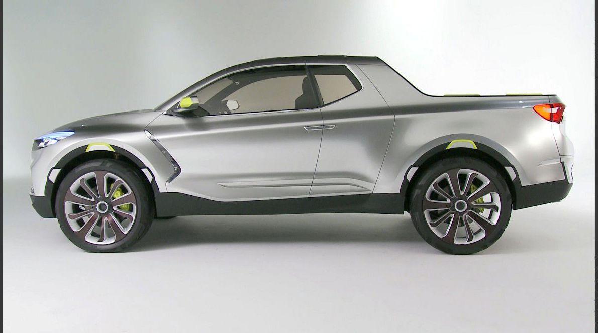 2022 Hyundai Santa Cruz Dimensions Bakkie Back Seat Body On