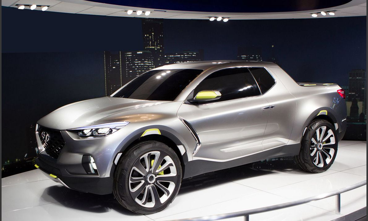 2022 Hyundai Santa Cruz Hightower Extendable Bed News Spy Photos