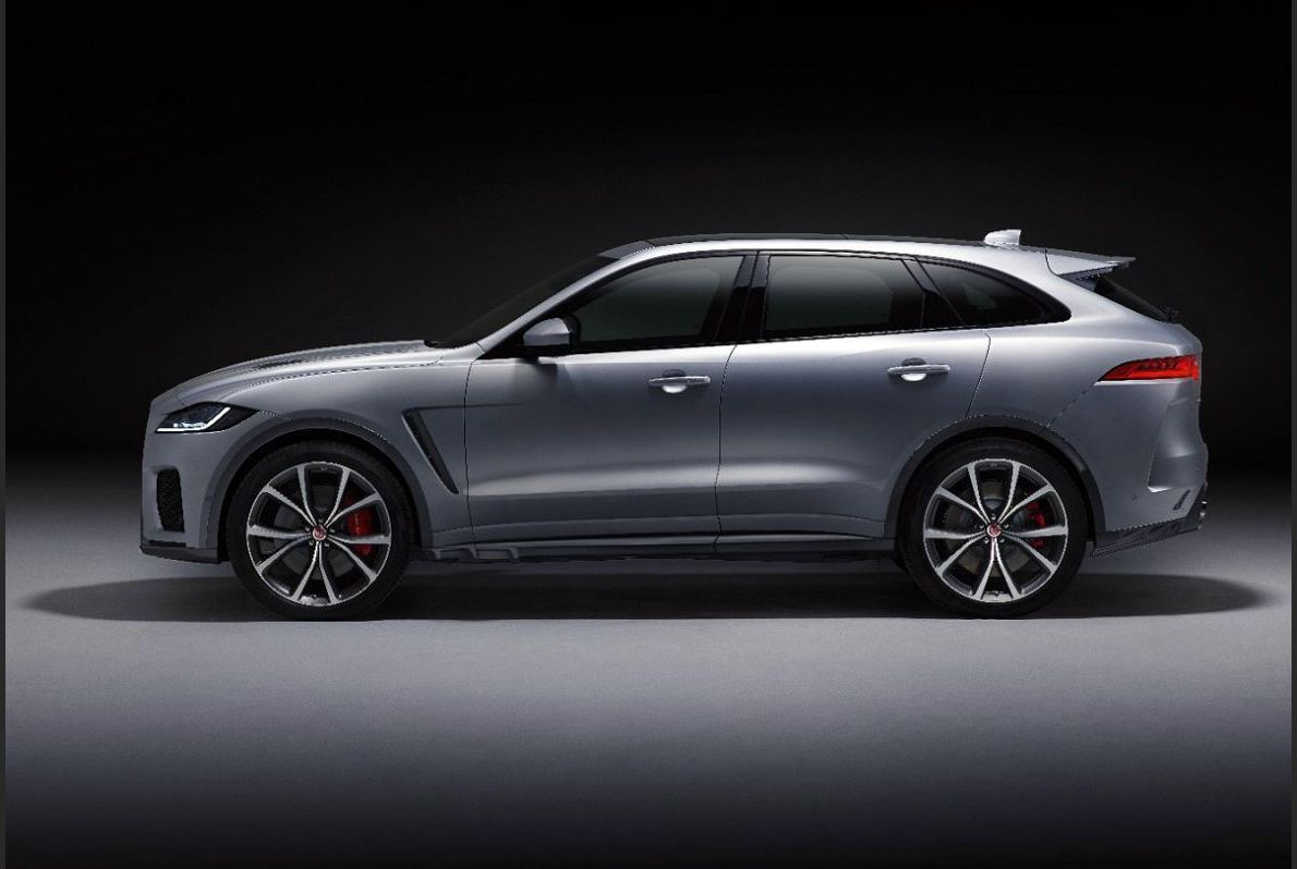 2022 Jaguar F Pace Green Blacked Out Crossover Leasing