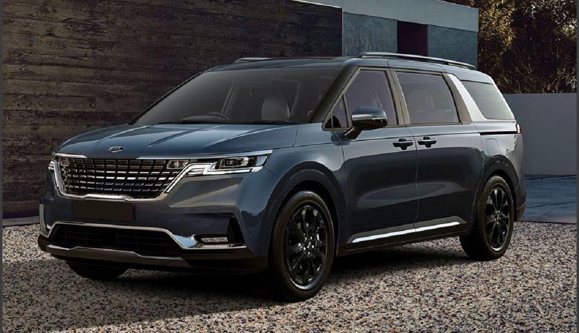 2022 Kia Sedona New Minivan Usa Hybrid Us Lx