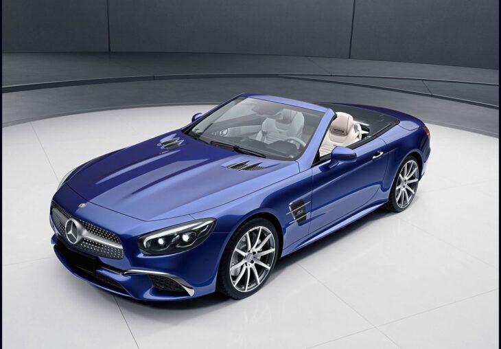 2022 Mercedes Sl Sl550 Interior Convertible Sl63 Spy Shots