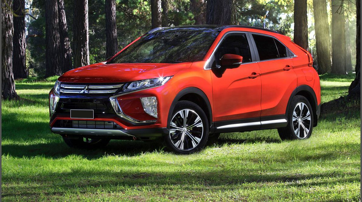 2022 Mitsubishi Eclipse Cross Pictures The Black Body Kit Blue