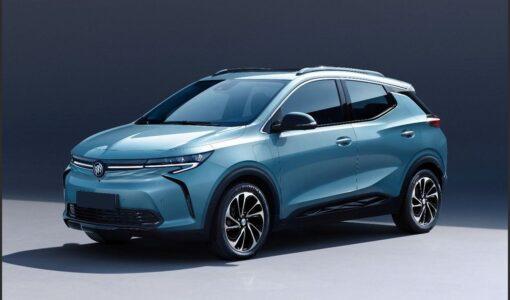 2022 Buick Velite 7 Electric Interior