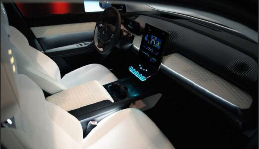 2022 Fisker Ocean Suv Interior Magna Mode Colors Charge