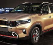 2022 Kia Sonet Will Have Sunroof About Facelift India