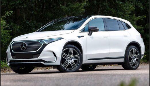 2022 Mercedes Benz Eqe Usa All Electric Black Brochure Horsepower