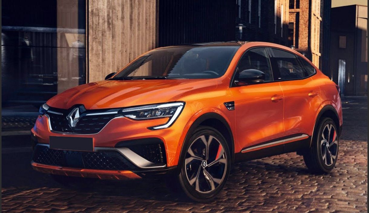 2022 Renault Arkana 2019 4x4 Euro Samsung E Tech Preview