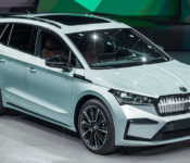 2022 Skoda Enyaq Iv Space Brochure Business Lease Black Size