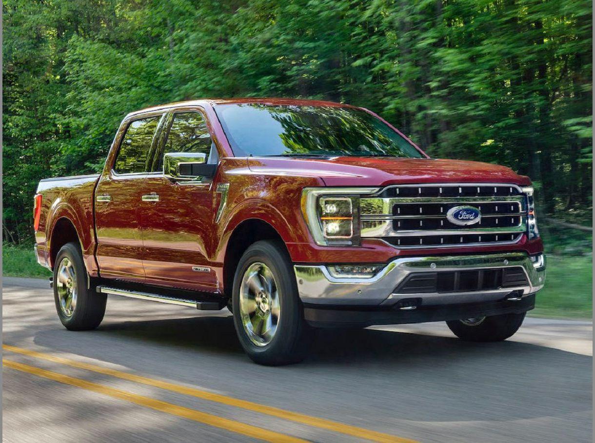 2022 Ford F150 2.7 Ecoboost King Ranch Hybrid Xlt Exterior
