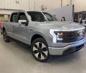 2022 Ford Lightning Model Curb Commercial Charging Time