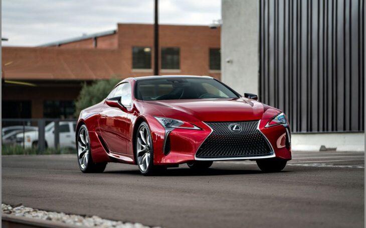 2022 Lexus Lc 500 Drive Brochure Build F Review Colors