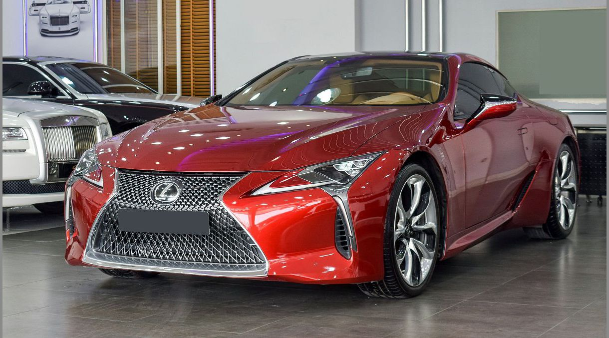 2022 Lexus Lc 500 Who Bought The At Barrett Image