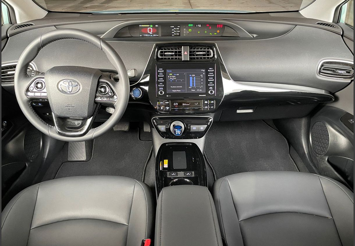 2022 Prius Nightshade Interior Cost Edition What Is Toyota