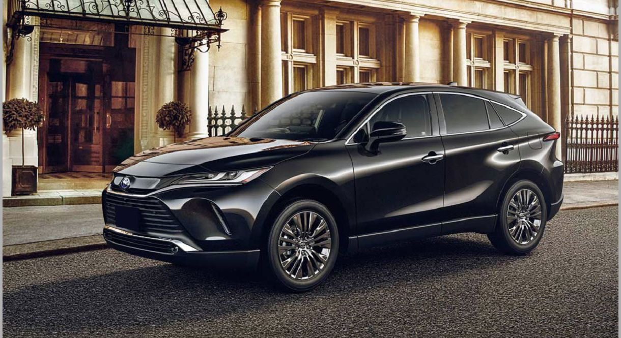 2022 Toyota Harrier 1998 Usa 2001 Kereta Car All Difference