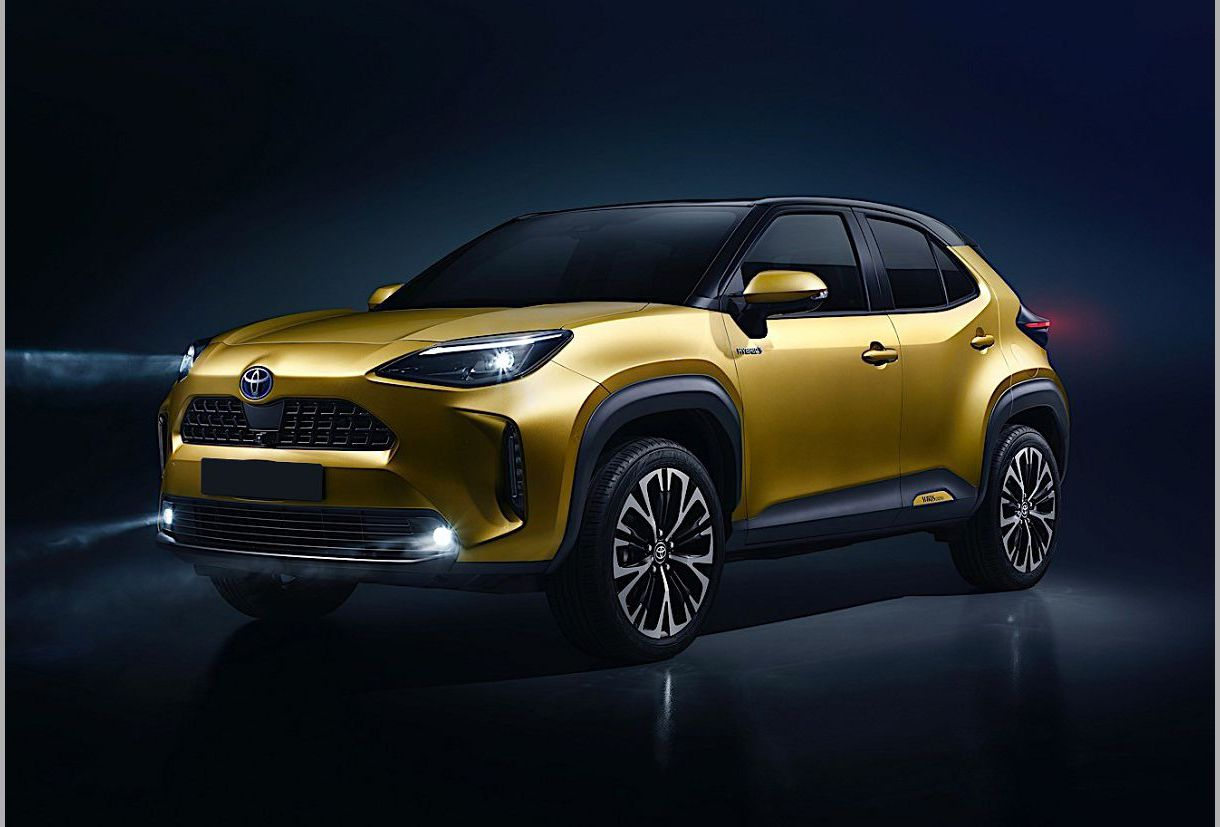 2022 Toyota Yaris Cross B Urban New Interior Gx Test Lease