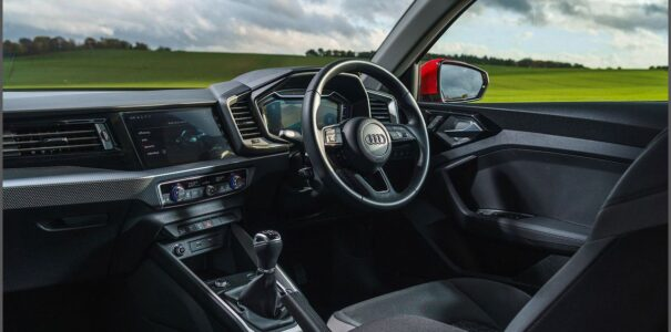2022 Audi Q1 Black Boot Space Beforward Exterior