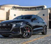2022 Audi Rs Q8 Australia Body Kit Build Blue Brakes