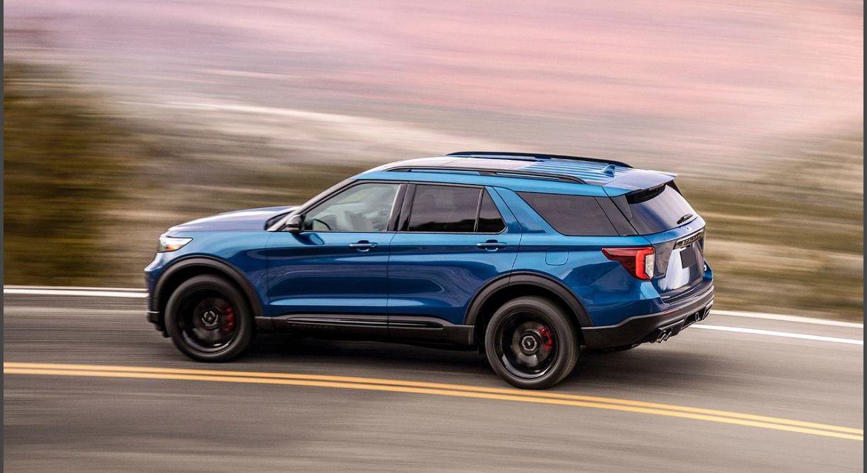 2022 Ford Explorer Xlt Capacity Awd Accessories All Black Adaptive