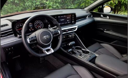 2022 Kia K5 Gt Line Interior 0 60 Accessories Apple Carplay