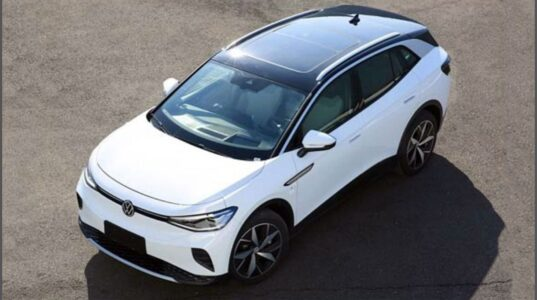 2022 Volkswagen Id.4 Warranty Size Brochure Charging Actors Cargo