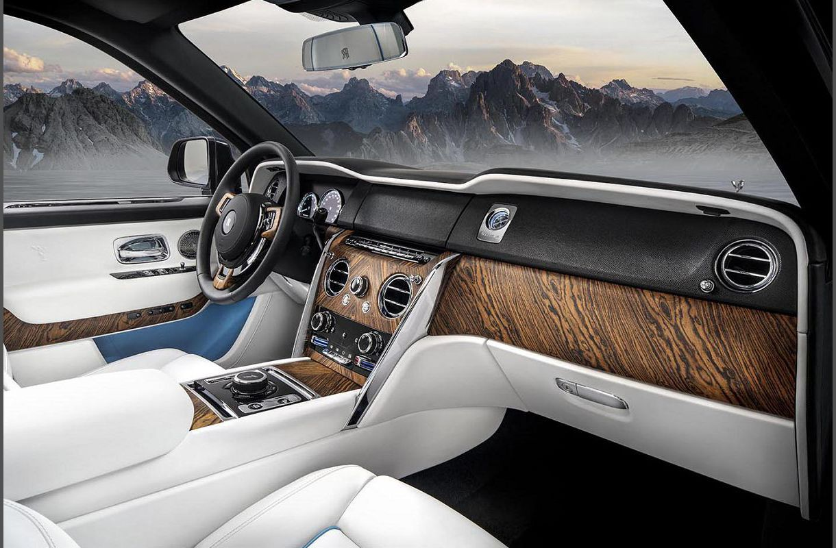 2022 Rolls Royce Cullinan Wheel Drive Roll Custom New Blue Model