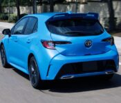 2022 Toyota Corolla Hatchback Hot S Release Date Images
