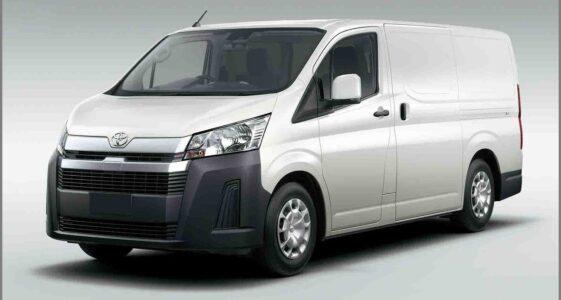 2022 Toyota Hiace Shark Vans Second Hand Precio